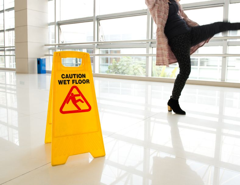 What to Do If You Fall and Hurt Yourself in a Store