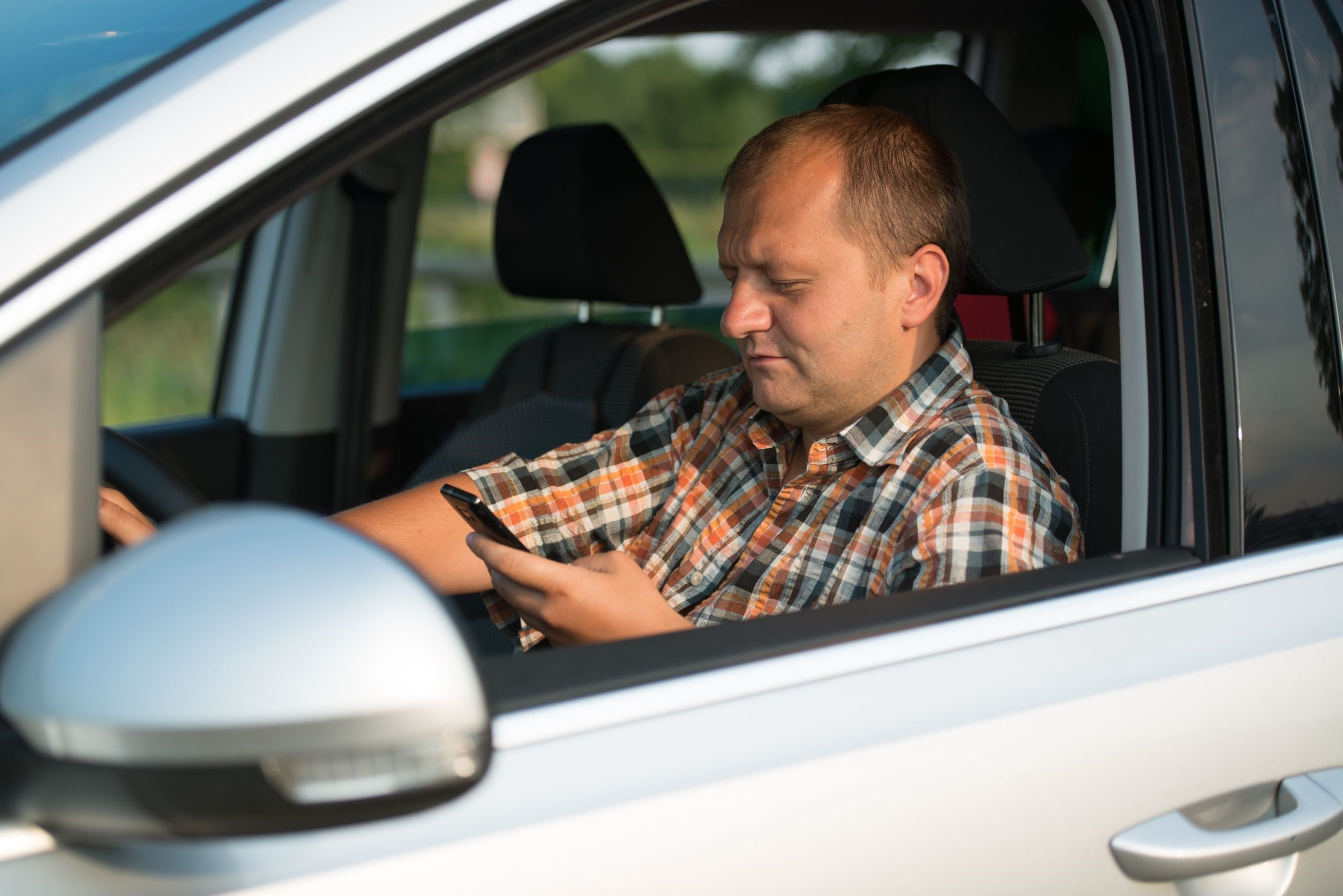 Adults Text While Driving More Than Teens